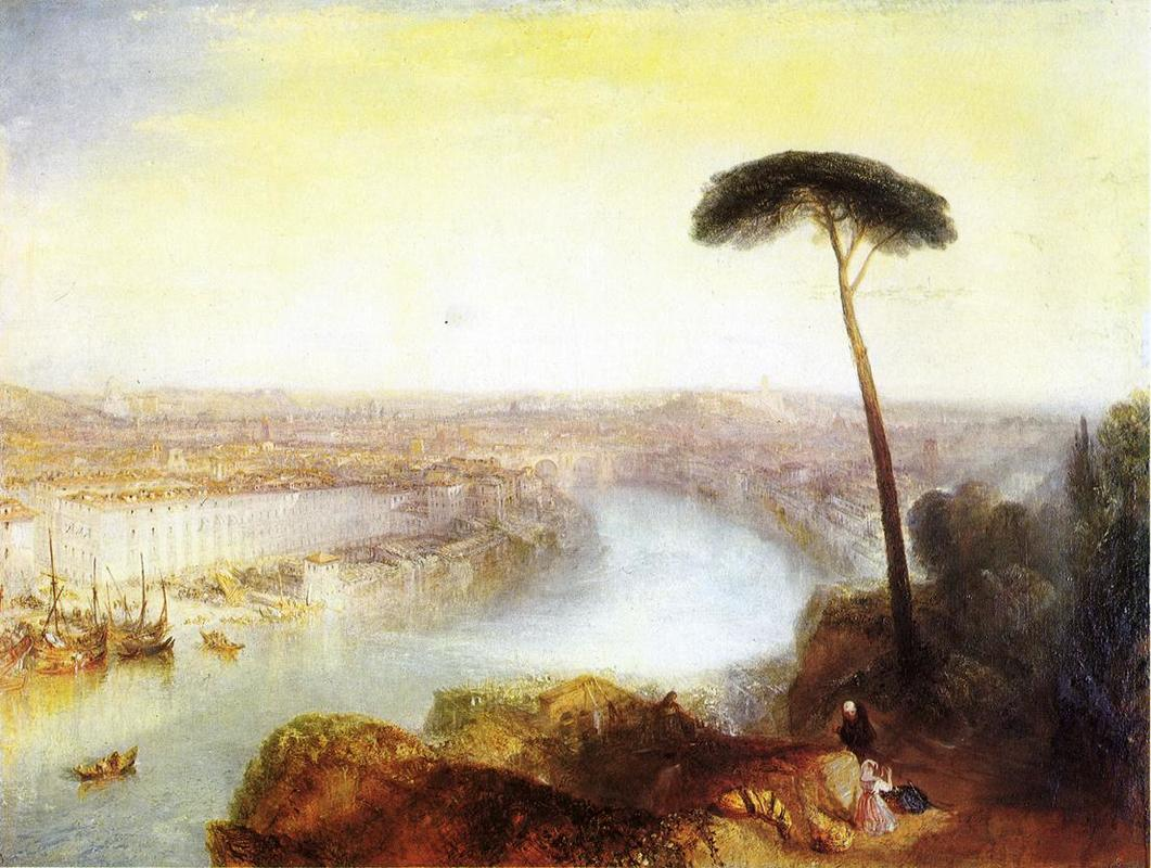 Rome from Mount Aventine (1835)  – Joseph Mallord William Turner